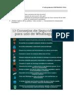 Lectura en Pareja Whatsapp