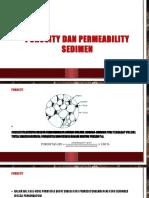 Porosity Dan Permeability Sedimen