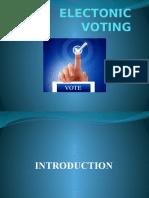 Electonic Voting