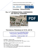 Program ICVL2016