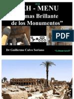 """Akh - Menu """"El mas Brillante de los Monumentos"""" - Antiguo Egipto"""