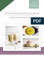 Vitamix Demo Cookbook Final