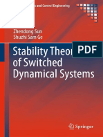 Zhendong Sun, Shuzhi Sam Ge - Stability Theory of Switched Dynamical Systems