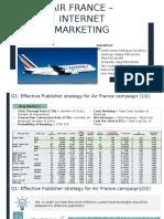 IMC Air France Section B Group 5