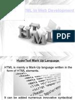 Pp t of Web Development