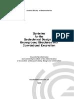 Guideline Geotechnical Design Conv 2010 01