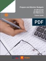 TG Prepare & Monitor Budgets Refined