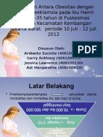 Obesitas Dengan Preeklamsia Ppt