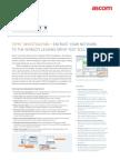 TEMS Investigation 16.0 Datasheet