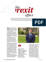 The Impact Of Brexit On The Preston Property Market