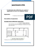Mechanics of material lab report