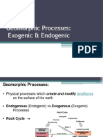 Exogenic Processes