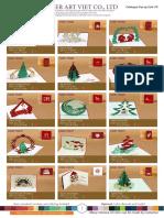 Pop-up card Catalogue