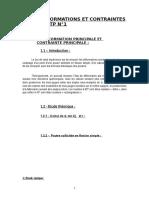[1] cours de rdm 1- Rapport RdM