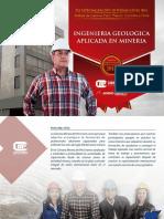 Especializacion de Ingenieria Geologica Aplicada en Mineria