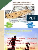 Keseimbangan Ekonomi 2 Sektor