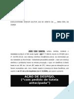 Acao Despejo Alienacao Imovel Durante Locacao Art 8 Inquilinato PN702