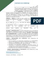 Contrato de Corretaje Exclusividad