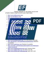 Useful TEFL Websites