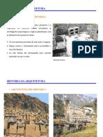 1- Hist-ria Da Arquitetura - Pr- Hist-ria