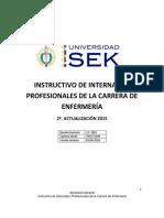 Instructivo de Internados Profesionales Enfermeria Usek 2a_act_2015