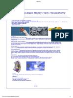 Black Money Control Method