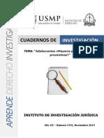 Cuadernos Investigacion 17va Edicion