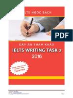 Writing task 2 2016