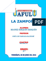 Monografia La Zampoña