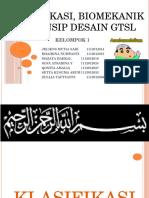 Kel.1 Klasifikasi, Biomekanik Dan Prinsip Desain