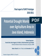 SAFE Drought Monitoring Final Report LAPAN
