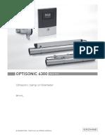 Krohne OPTISONIC6300 Quick Start Guide