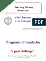 Refractory-Primary-Headache  Surat Pornchai