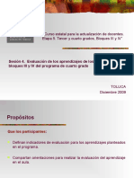 Evaluación Diplomado de 3 y 4 Grado