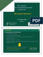 microgrid operation