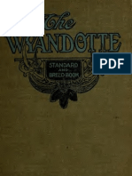 (1919) Wyandotte Standard and Breed