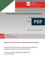 CPA 2015 (Abreu Advogados - Apresentacao Não Juristas 72pg)