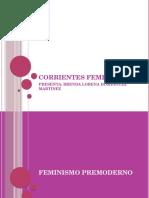 Corrientes Feministas