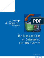 Outsourcing Blue Paper
