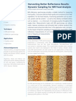 App Note Dynamic Sampling for NIR Food Analysis