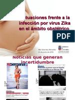 Actuaciones Virus Zika y Embarazo