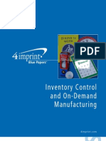 Inventory Control Blue Paper