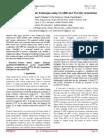 Novel Image Enhancement Technique using CLAHE and Wavelet Transforms