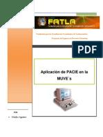 Aplicación de PACIE en MUVE'sLorena-Aguirre