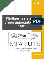 Extrait Guide Rediger Statuts Association 1901