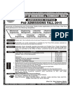 Advertisement Phd Fall-2015