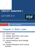 Circuits I Lect3