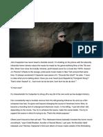 John Carpenter Talks About His Latest Album and Donald Trump