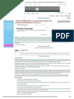 Manual de Organización y de Normas Para La Gestión Del Programa de Alimentación Escolar (Página2 2) - Monografias