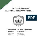 Cover Legalisir Ijasah